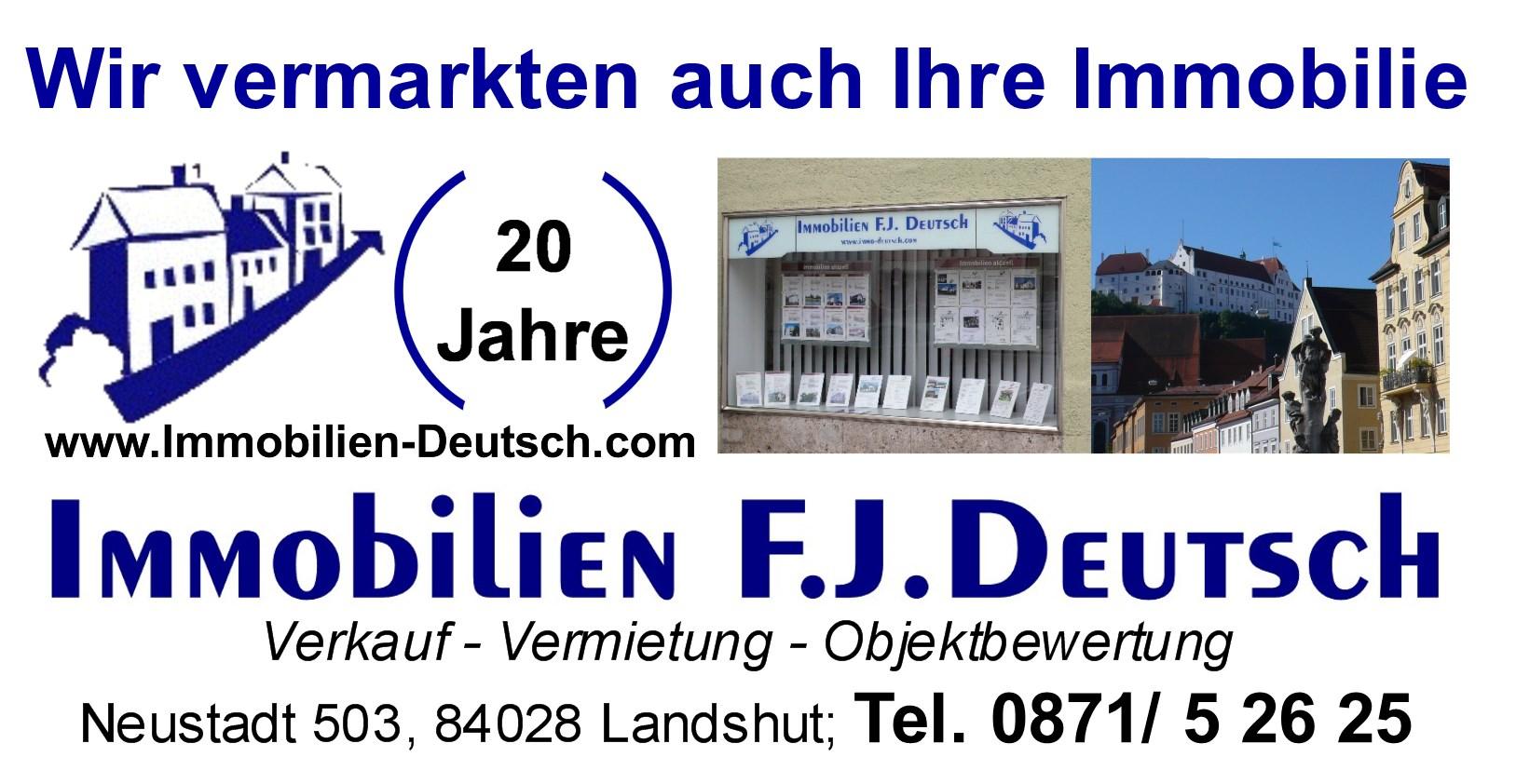 Logo Immobilien Deutsch in Landshut
